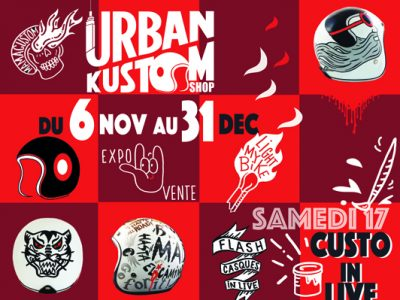 MMC chez URBAN KUSTOM SHOP-BDX-Nov 18